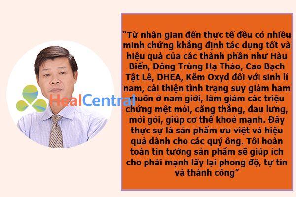 Đánh giá của PGS.TS Trần Văn Ơn
