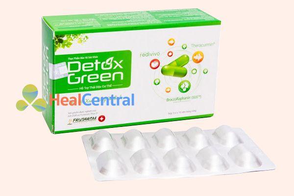 Thuốc mát gan giải độc Detox Green