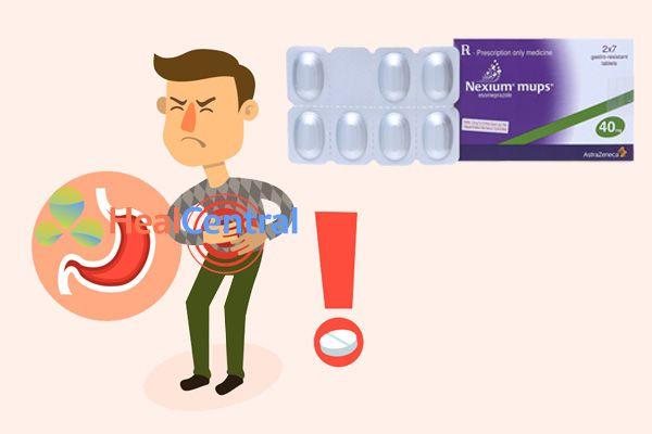 Nexium Mups 40mg được các bác sĩ chỉ định cho bệnh nhân viêm loét dạ dày