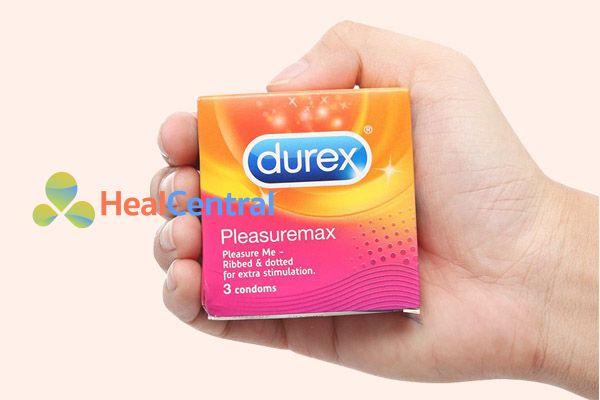 Bao cao su Durex Pleasuremax