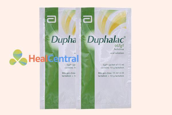 Gói thuốc Duphalac 15ml