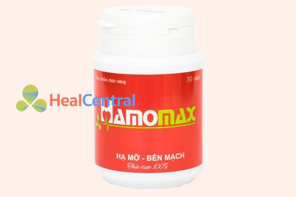 Viên uống Hamomax giúp hạ mỡ máu hiệu quả