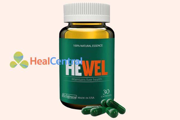 Thuốc bổ gan Hewel có nguồn gốc từ Mỹ
