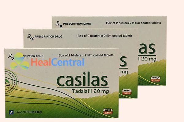 Hộp thuốc Casilas chính hãng