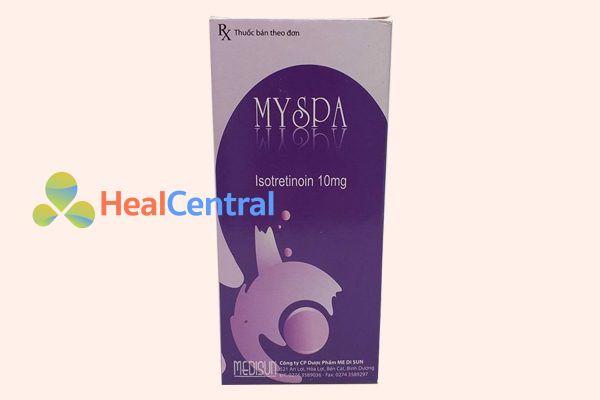 Hộp thuốc Myspa