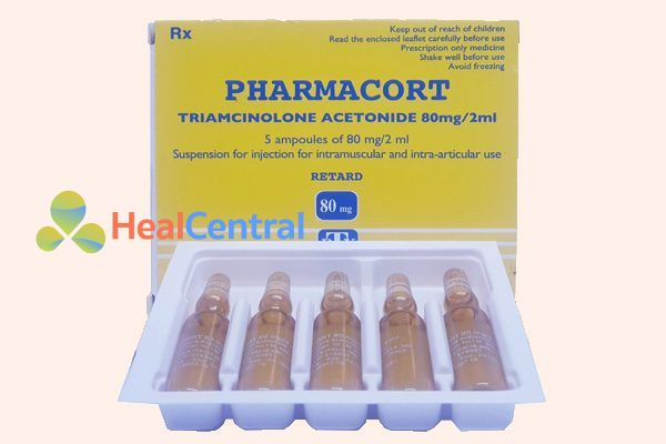 Hộp thuốc Pharmacort