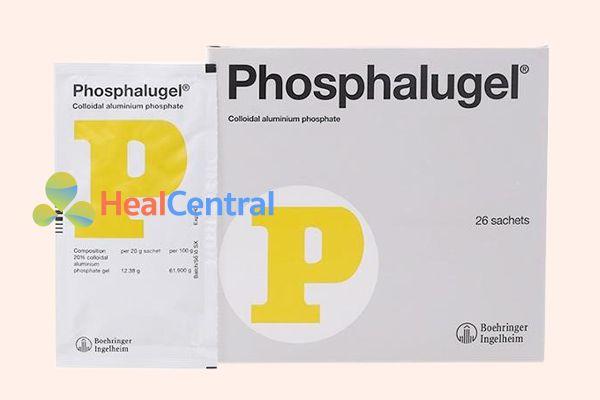 Hộp thuốc Phosphalugel