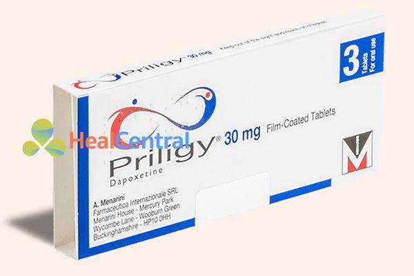 Hộp thuốc Priligy 30mg