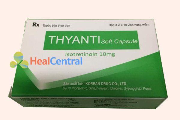 Hộp thuốc Thyanti