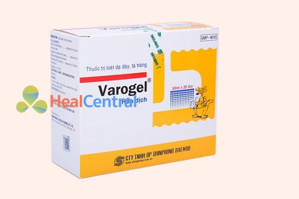 Hộp thuốc Varogel