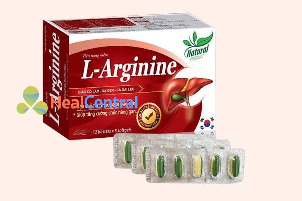 L-Arginine là thuốc bổ gan của nhật
