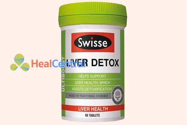Thuốc bổ gan Liver Detox của Mỹ