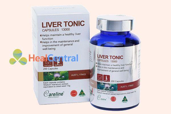 Liver Tonic Capsule là thuốc giải độc gan của Australia