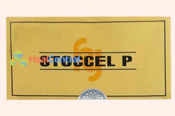 Mặt trên hộp thuốc có tem chính hãng