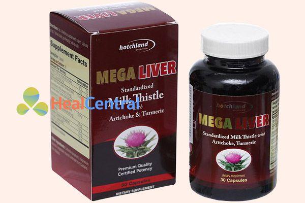 Thuốc mát gan Mega Liver