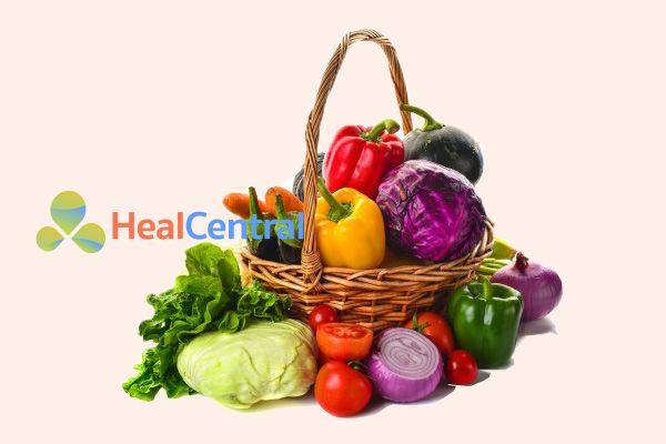 Bệnh nhân bị máu nhiễm mỡ nên ăn nhiều rau xanh
