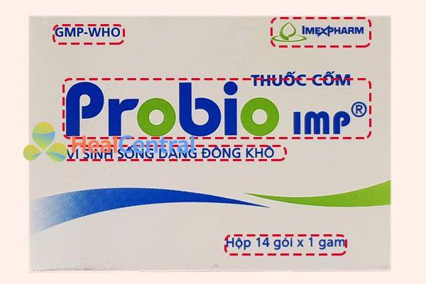 Một số đặc điểm phân biệt Probio IMP thật giả