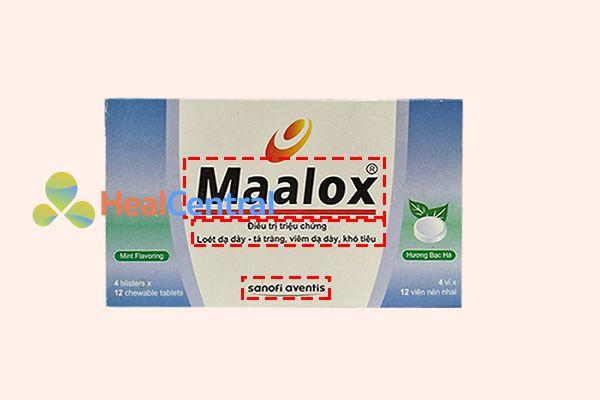 Một số đặc điểm phân biệt Maalox Sanofi thật giả