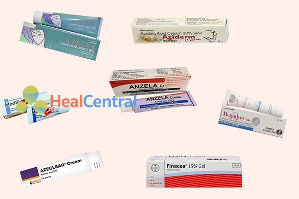 Một số thuốc có chứa Azelaic Acid