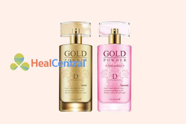 Hai lọ nước hoa kích dục nữ Gold Power