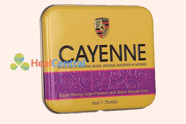 Nước kích dục nữ Cayenne cao cấp