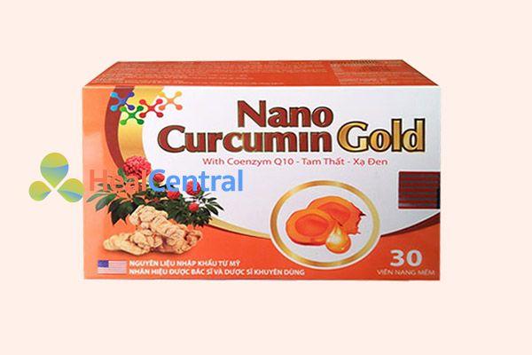 Sản phẩm Nano Curcumin Gold