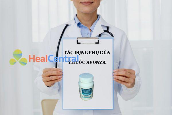 Tác dụng phụ của thuốc avonza