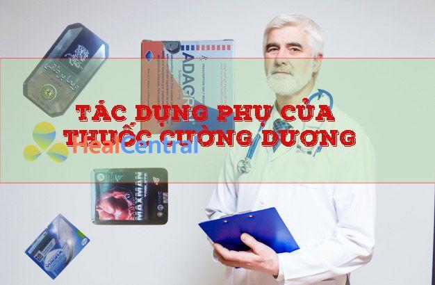 Tác dụng phụ của thuốc Cường dương