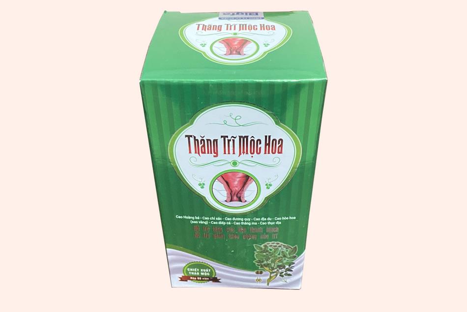 Hộp thuốc Thăng Trĩ Mộc Hoa