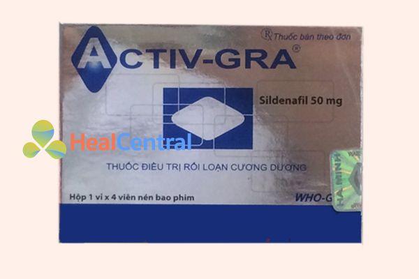 Thuốc Activ Gra có thành phần chính là Tadalafil