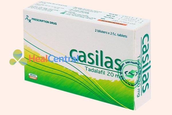 Thuốc Casilas có chứa Tadalafil
