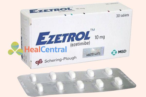 Thuốc Ezetrol 10mg do hãng dược phẩm Merck phân phối tại Việt Nam