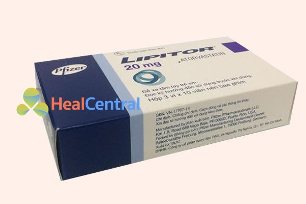 Thuốc Lipitor 20mg