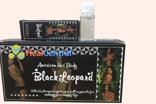 Hộp thuốc kích dục nữ Black Leopard