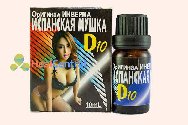 Lọ thuốc kích dục D10 của Nga