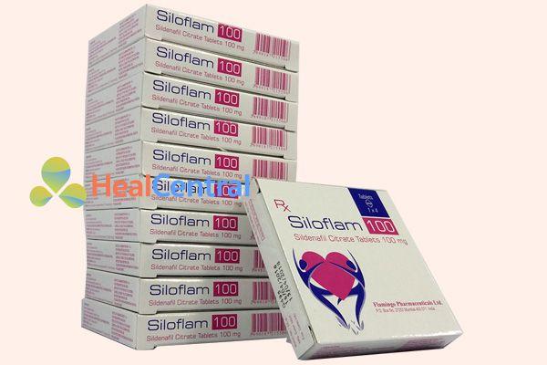 Hộp thuốc kích dục Siloflam 100