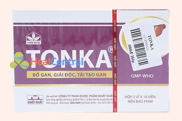 Thuốc bổ gan Tonka của Nhất Nhất