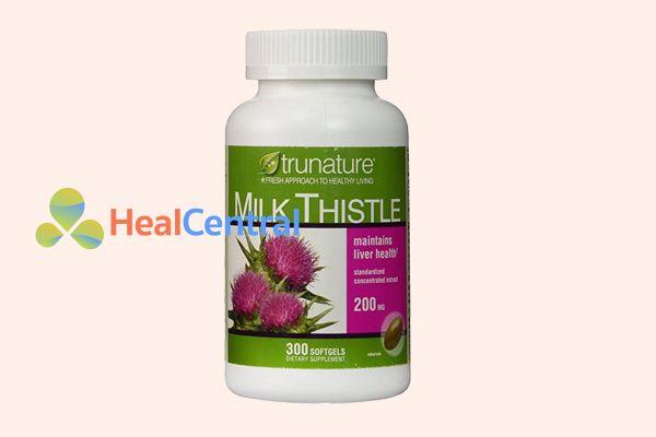 Trunature Milk Thistlelà thuốc giải độc gan của Mỹ