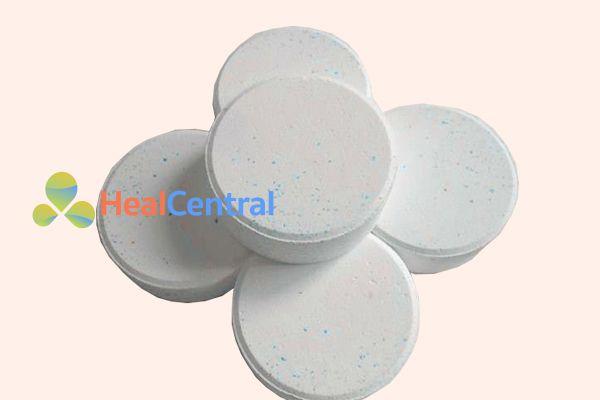 Viên thuốc Cloramin B