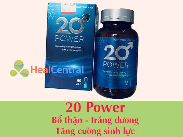 Thuốc cường dương 20 Power
