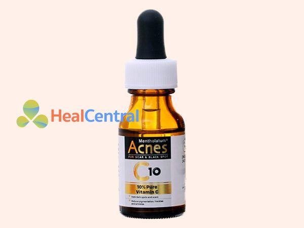 Serum Acnes C10 giúp mờ vết sẹo, vết thâm