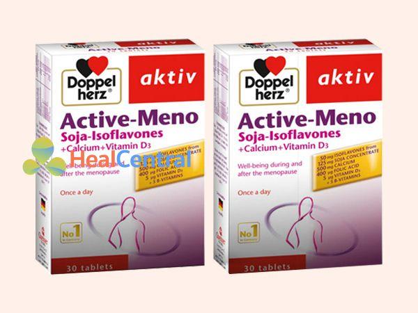 Active Meno có chứa thành phần Isoflavone