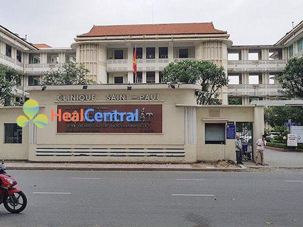 Trụ sở bệnh viện mắt Điện Biên Phủ