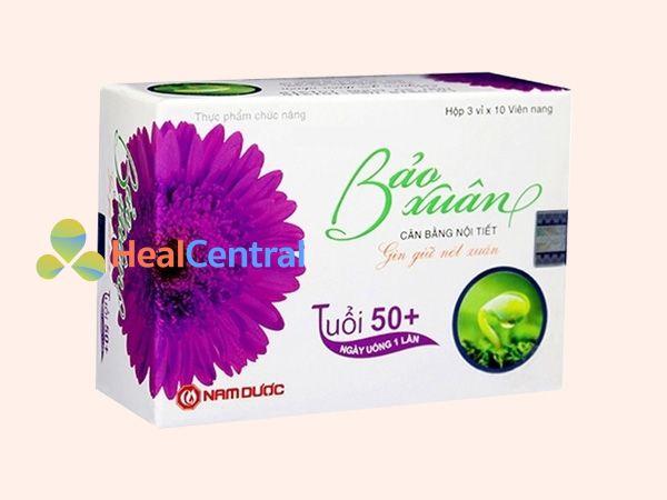 Bảo xuân 50+ giúp bổ sung các dưỡng chất quý cho phụ nữ