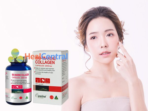 Bio Marine Collagen - giúp chị em có làn da sáng mịn