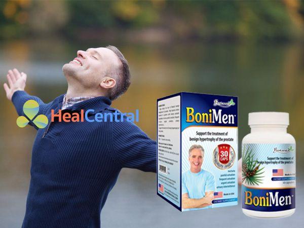 Bonimen giúp tăng cường sinh lý cho nam giới