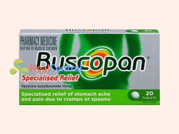 Thuốc Buscopan có thành phần chính là Hyoscin butylbromid