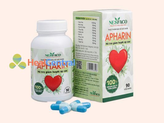 Viên uống hạ huyết áp Apharin