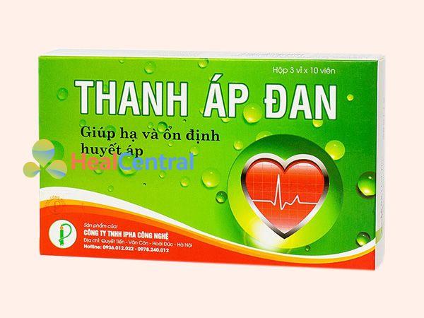 Thanh Áp Đan - hỗ trợ điều trị cao huyết áp