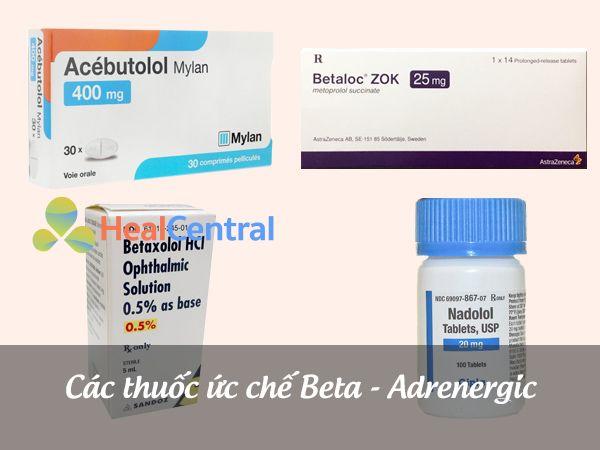 Thuốc ức chế Beta - adrenergic